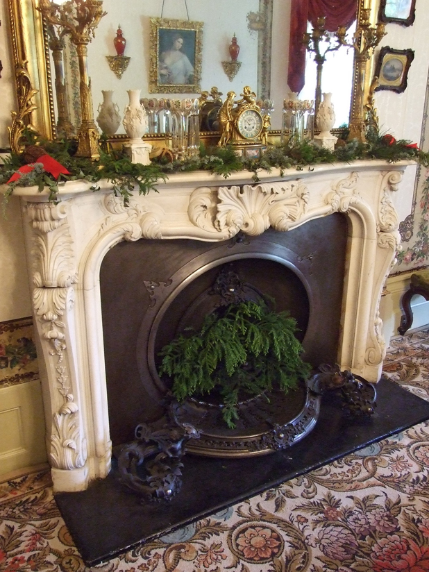 Christmas greenery at Vaucluse House.