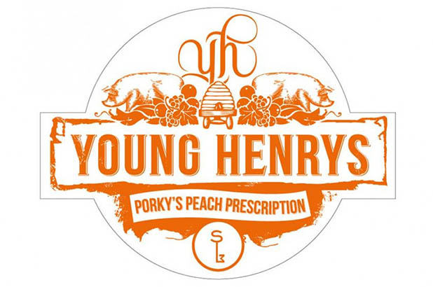 Young Henry's special Eat your history brew: Porky's peach prescription