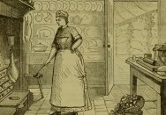 Australian kitchen in Mrs Beeton's book of household management, circa 1880