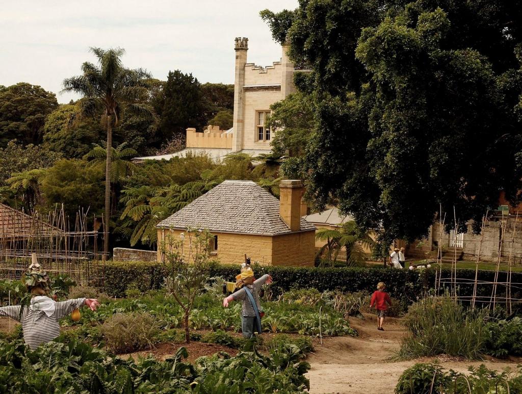 Kitchen garden at Vaucluse House