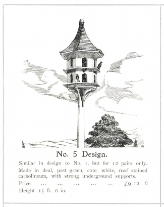Pigeon cote design no 5
