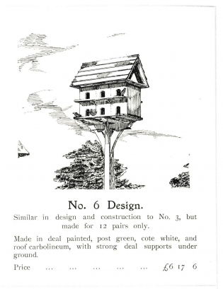 Pigeon cote design no 6