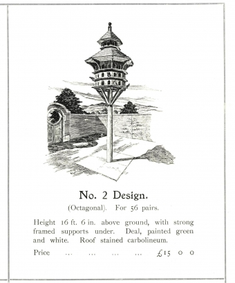Pigeon cote design no 2