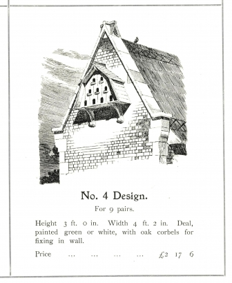 Pigeon cote design no 4