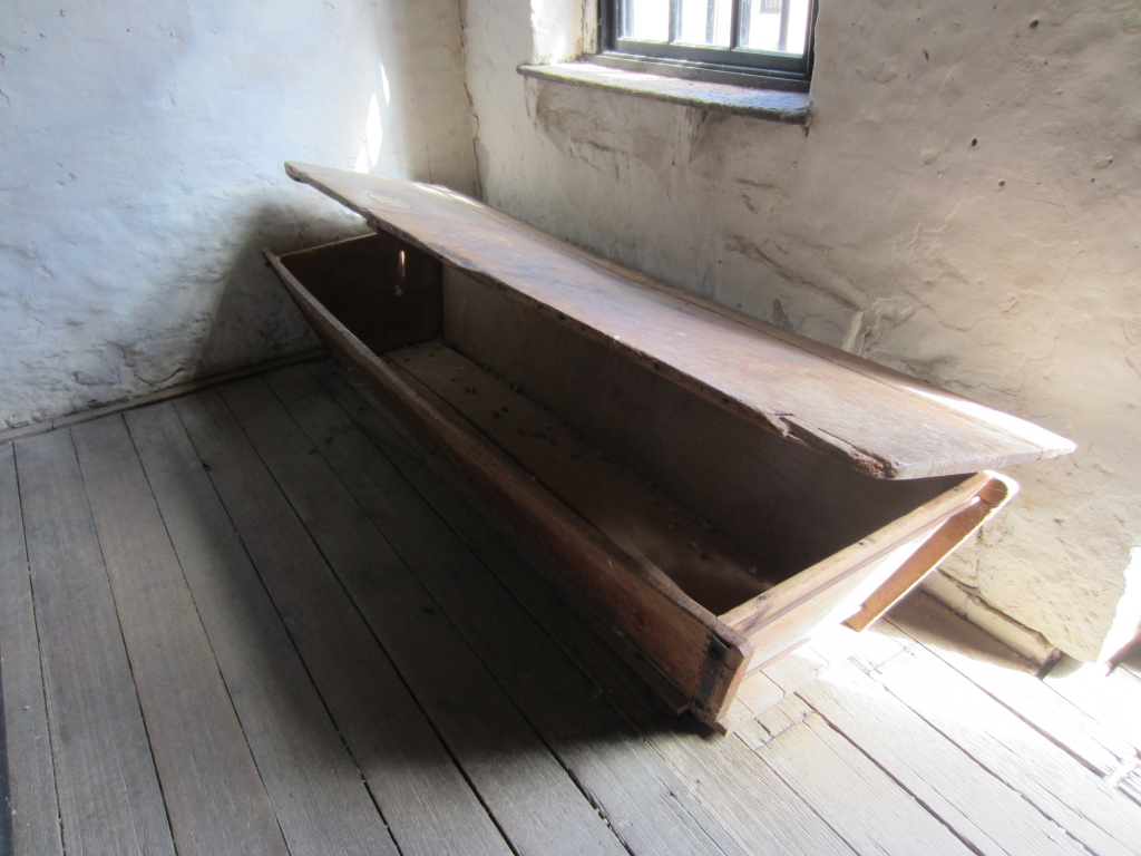 Long dough box at Richmond Gaol, Tasmania.