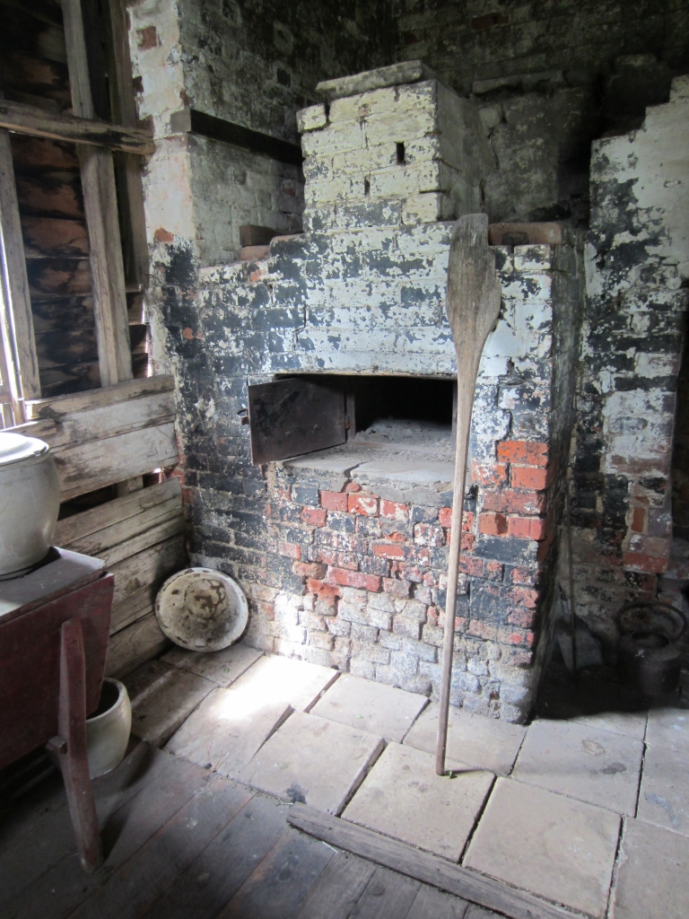 Oven at Brickenden in Tasmania