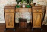 Regency sideboard in the dining room of Leslie Walford's apartment