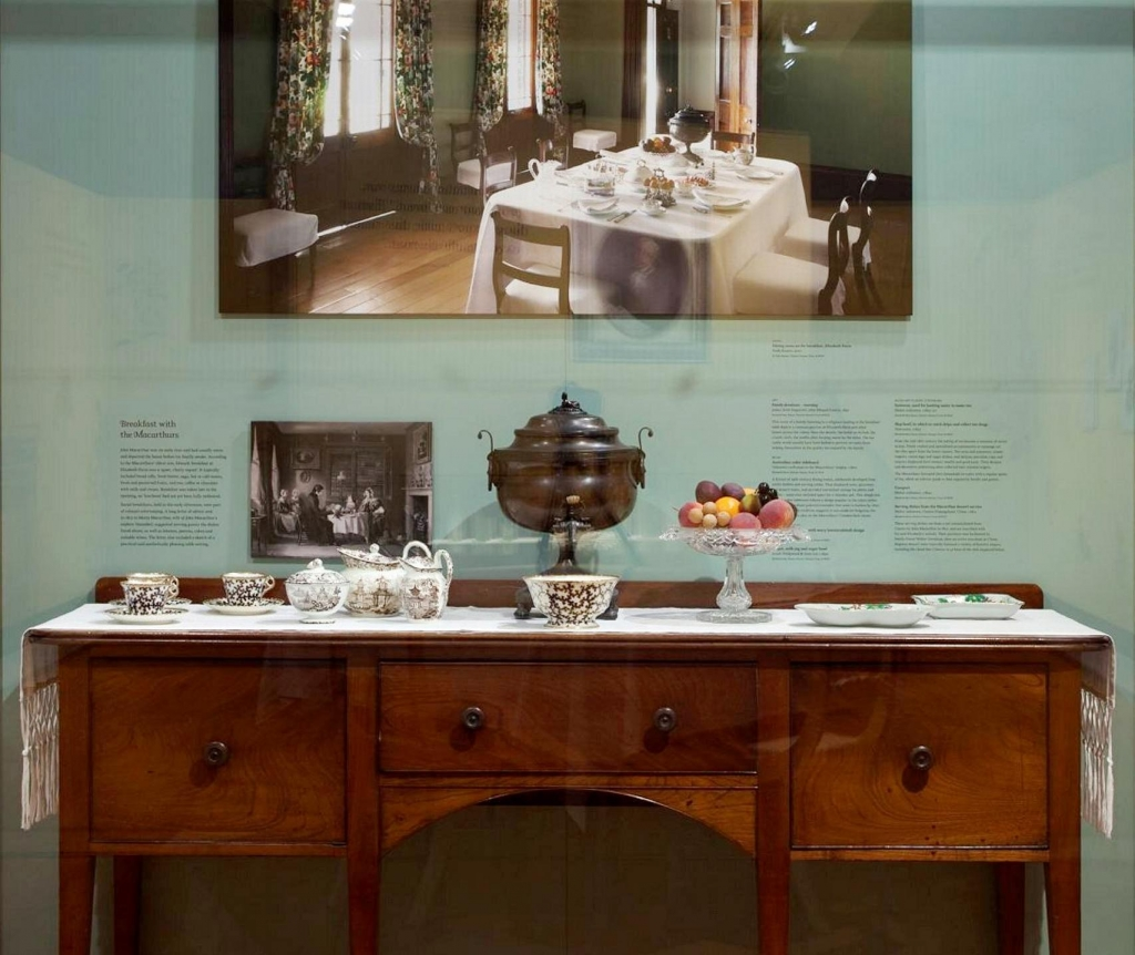 Belgenny sideboard in the 'Eat your history: A shared table' exhibition