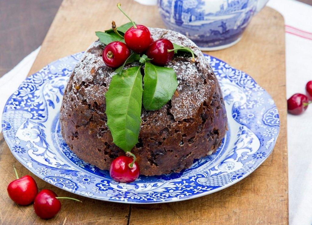 A Christmas pudding Photo © James Horan for Sydney Living Museums