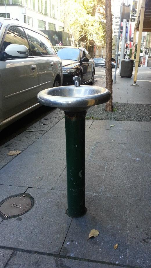 King Street bubbler
