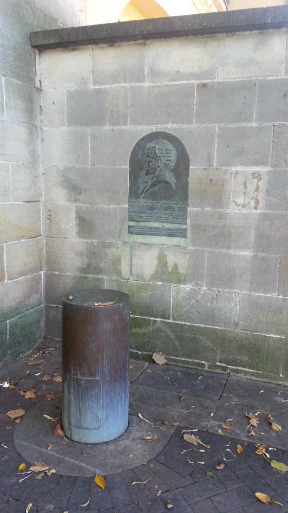 Major The Hon. Clarence Edward Martin QC memorial fountain