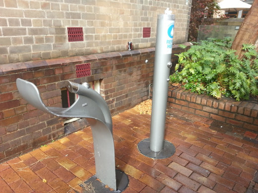 Playfair Street bubbler