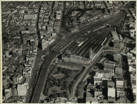 Central Station from above, 1947