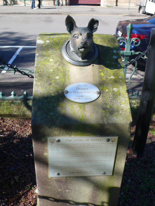 Donna the Hearing Guide Dog Memorial