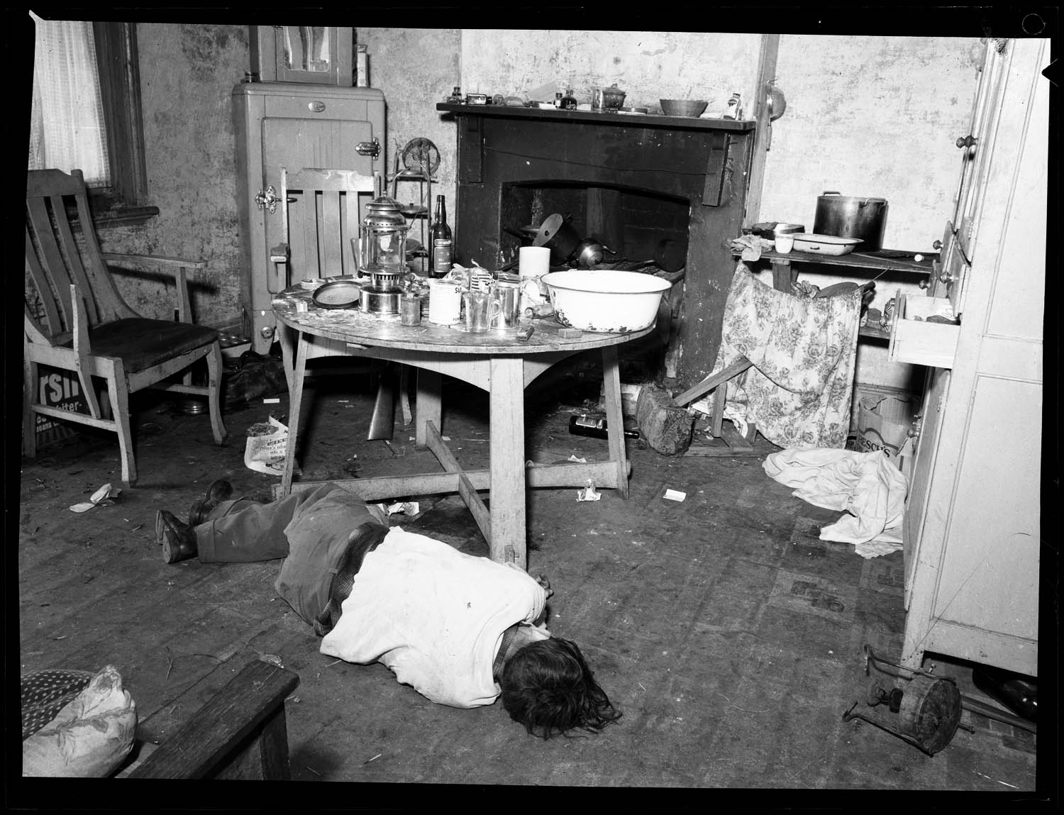 Clutter Family Crime Scene Pictures